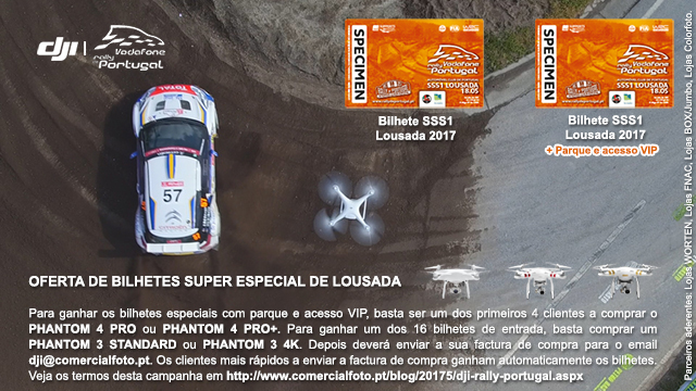DJI - Vodafone Rally de Portugal