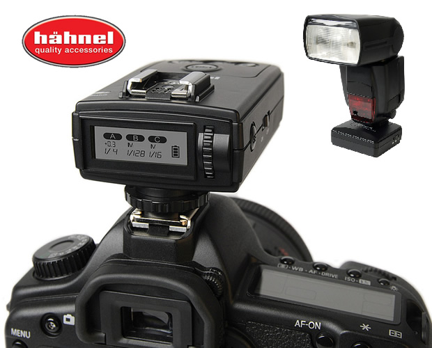 Viper Wireless Group Flash Trigger  para DSLR & Flash Canon